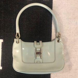 Gucci powder blue small purse